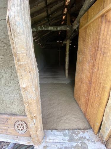 Der Boden wurde am 19. Mai fertig gelehmt.